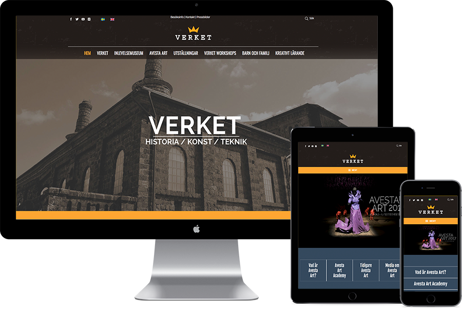 Webbplats Verket